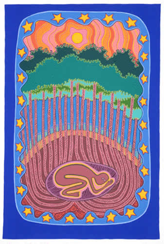 Sally Morgan, Earth as Mother, Aboriginal art