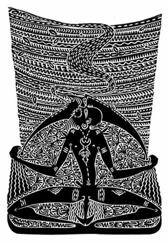 Alick Tipoti, Baiwaw Garka, Torres Strait Islander art
