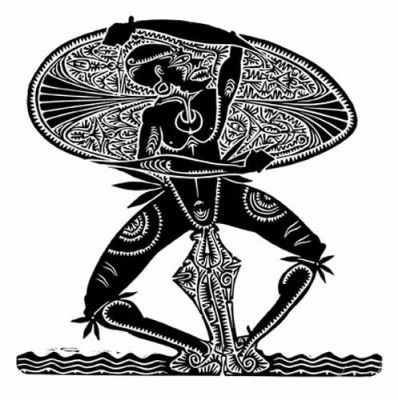 Alick Tipoti, Alick Tipoti, Gabau Aimai Mabaig, Torres Strait Islander art