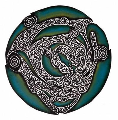 Alick Tipoti, Kukiaw Bidhiyal, Torres Strait Islander art