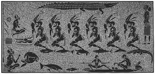 Alick Tipoti, Zug Ngurpik, Torres Strait Islander art