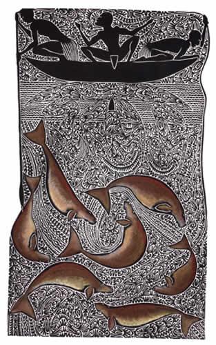 Alick Tipoti, Nudaik, Torres Strait Islander art