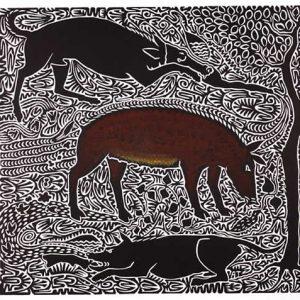 Alick Tipoti, Burum, Torres Strait Islander art