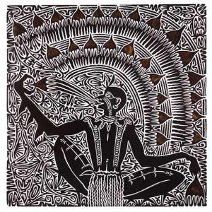 Alick Tipoti, Kamu Sagal, Torres Strait Islander art