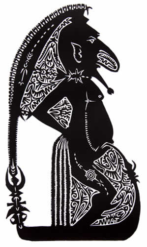 Alick Tipoti, Yoepkaziew Madhub IV, Torres Strait Islander art