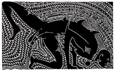 Alick Tipoti, Koenaik, Torres Strait Islander art