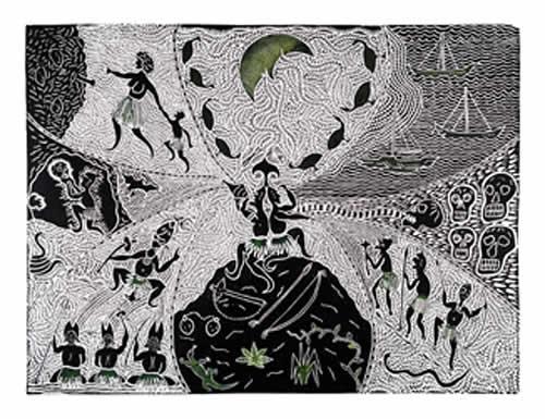 Billy Missi, Thurau Nagai Mabaig, Torres Strait Islander art