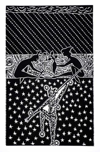 David Bosun, Thagay, Torres Strait Islander art