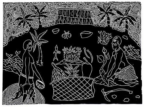 David Bosun, Livelihood, Torres Strait Islander art