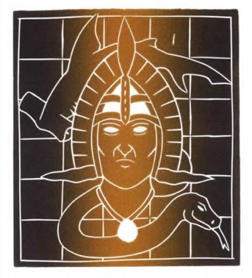 David Bosun, Ngau Adthil, Torres Strait Islander art