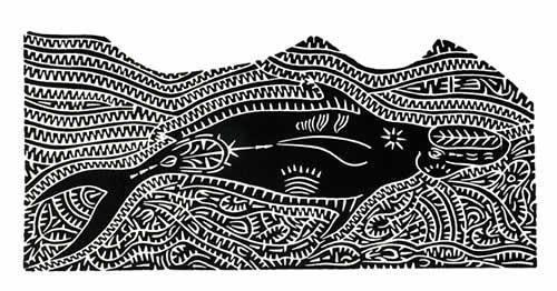 David Bosun, Gapu, Torres Strait Islander art