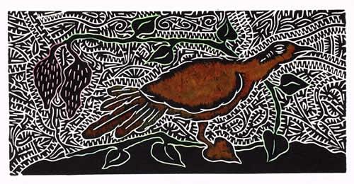 David Bosun, Apau Gab, Torres Strait Islander art
