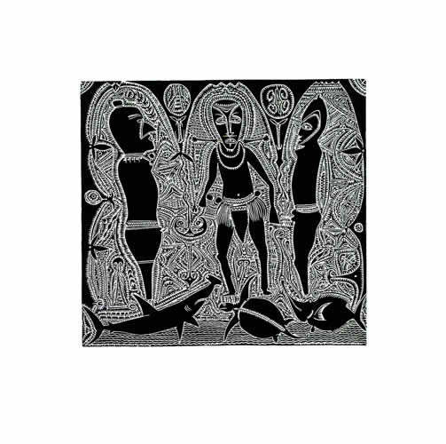 Dennis Nona, Lagaw Maoub Al - Spirit Charms, Torres Strait Islander art
