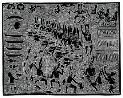 Dennis Nona, Waii Ar Soibai, Torres Strait Islander art