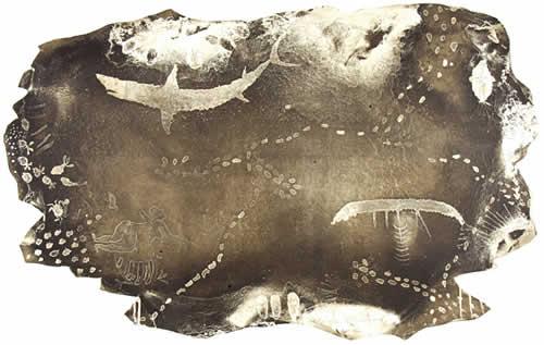 Dennis Nona, Sarup Au Zig - Lost Man, Torres Strait Islander art