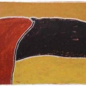 Freddy, Timms, Joolabun - Dog Dreaming, Aboriginal art