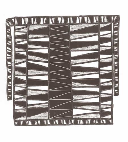 Johnny Bulunbulun, Lunggurrma-Northern Wind, Body Designs, Aboriginal art