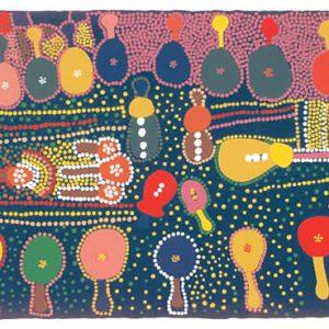 Marlee Napurrula, Guitars, Aboriginal art