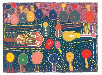 Marlee Napurrula, Guitars, Aboriginal art