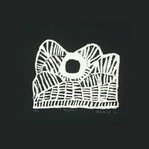 Nancy Nodea, Hills of Warmun I, Aboriginal art