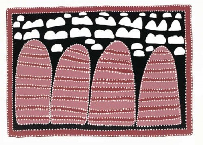 Queenie, McKenzie, Mingmarriya Country, Aboriginal art
