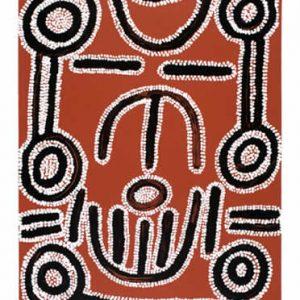 Ronnie Jakamarra Lawson, Women's Dreaming, Aboriginal art