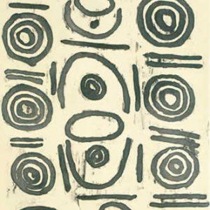 Ronnie Jakamarra Lawson, Janmarda - Bush Onion, Aboriginal art