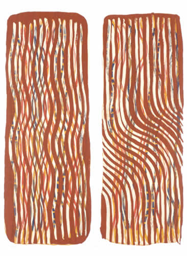 Rosella Namok, Old Girls, Aboriginal art