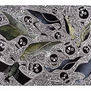 Solomon Booth, Kui and Kudluk, Torres Strait Islander art