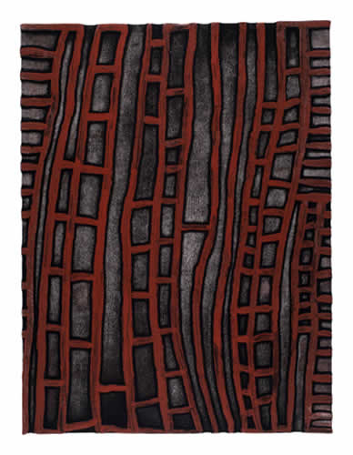 Tjumpo Tjapanangka, Murruwa - Living Place My Country, Aboriginal art