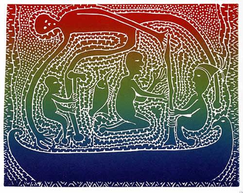 Victor Motlop, Gulau Maril, Torres Strait Islander art