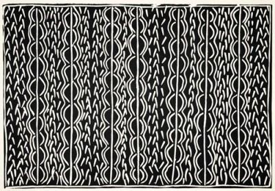 Tommy May (Ngarralja), Luwuturr, Aboriginal art