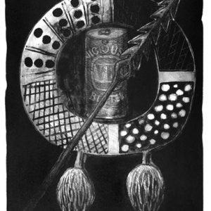 Reppie Orsto, Tiwi Beware, Aboriginal art