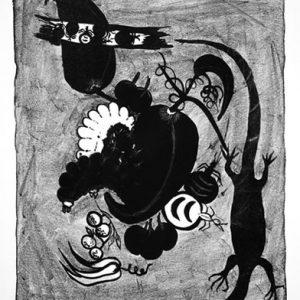 Sadie Singer (Nyalyumta), Bush Tucker, Aboriginal art