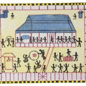 Jim Stanley, Moree Mission Aboriginal School 1933, Aboriginal art