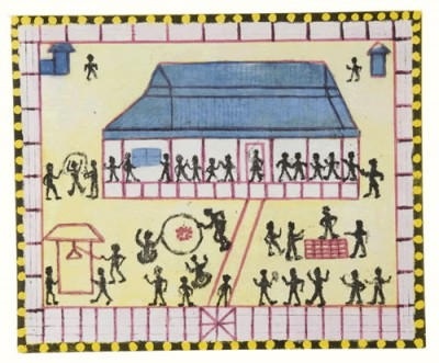 Jim Stanley, Moree Mission Aboriginal School 1933, Aboriginal art