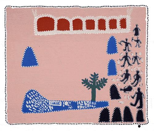Queenie, McKenzie, The Great Flood of 1922, Aboriginal art
