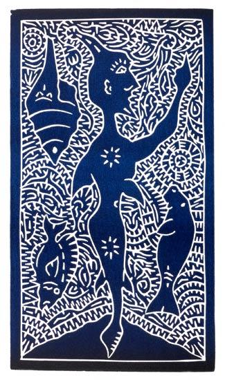 David Bosun, Madhub, Torres Strait Islander art