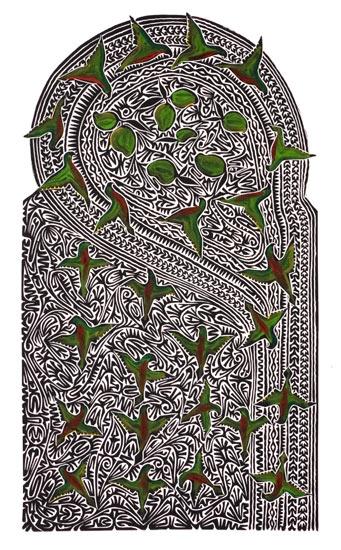 Alick Tipoti, Kirisal, Torres Strait Islander art