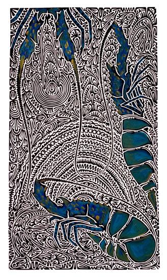Alick Tipoti, Kaiyaral Kula, Torres Strait Islander art