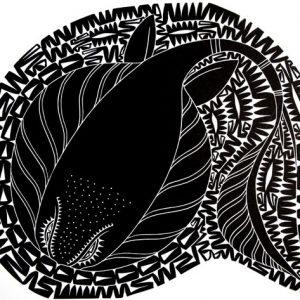 Glen Mackie (Kei Kalak), Oun, Torres Strait Islander art