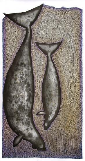 Alick Tipoti, Apu Kaz, Torres Strait Islander art