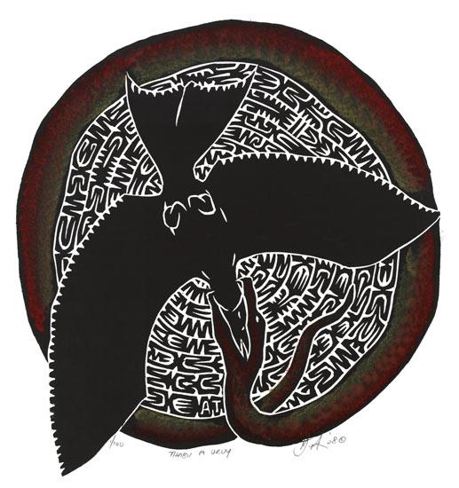 Alick Tipoti, Thabu A Uruy, Torres Strait Islander art