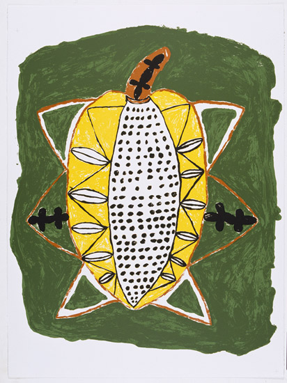 Simeon Simix, Paw Paw/Breadfruit, Vanuatu art