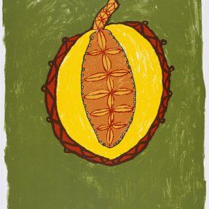 Simeon Simix, Paw Paw/Coconut, Vanuatu art