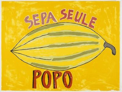 Sepa Seule, Popo, Vanuatu art