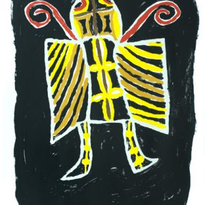 Simeon Simix, Mataso Flae Man, Vanuatu art