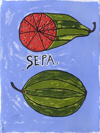 Sepa Seule, Wota Melon, Vanuatu art
