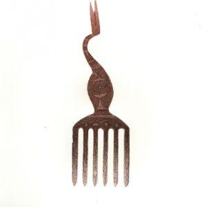 Dennis Nona, Yalubub Au Za (Bird Comb I), Torres Strait Islander art