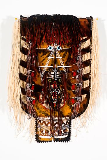 Alick Tipoti, Maza Mawa (Wapiya) I, Torres Strait Islander art